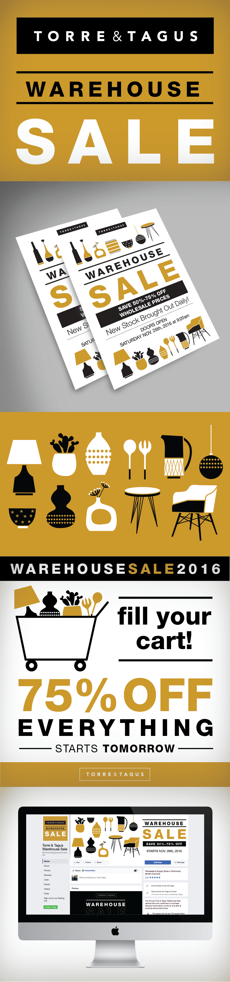Torre & Tagus Warehouse Sale